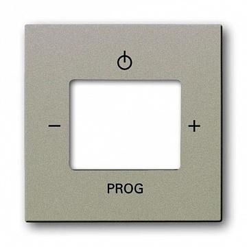 Плата центральная (накладка) для механизма цифрого FM-радио 8215 U, серия Basic 55, цвет альпийский 8200-0-0169 ABB
