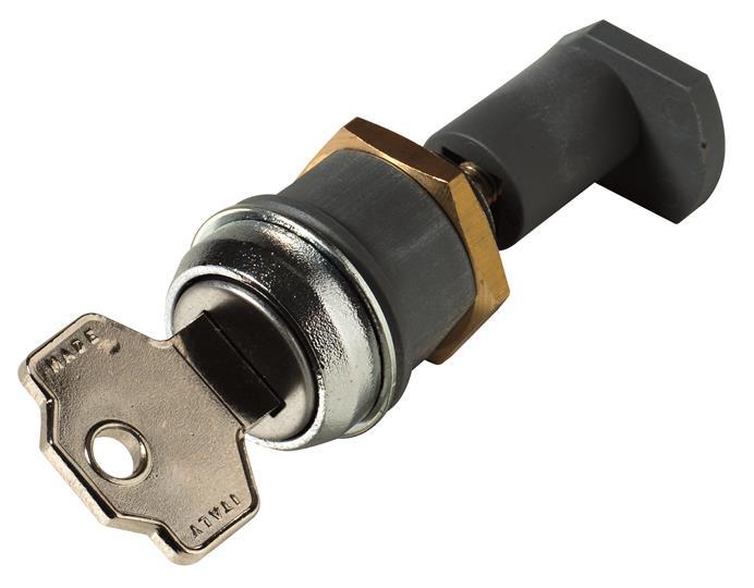 Блокировка положения выключателя в фикс. части KLF-D-FP - с разными ключами T7-T7M-X1 1SDA062153R1 ABB