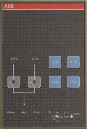 Блок автоматического управления переключением источников питания (АВР) ATS021 1SDA065523R1 ABB