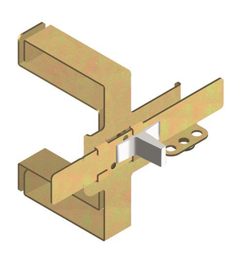 Блокировка взаимная механическая MIF T1-T2-T3 фронтальная на 2 выключателя 1SDA051396R1 ABB