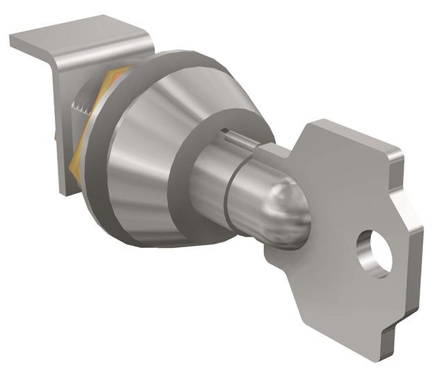 Блокировка выключателя в разомкнутом состоянии RHL T1-2-3 KEY LOCK EQ.N2005 ROT.HANDLE2 1SDA051390R1 ABB