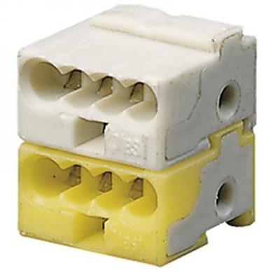 KLEMME Клеммник белый/желтый GHQ6301902R0001 ABB