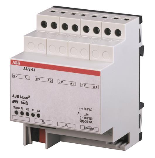 AA/S 4.1 Аналоговый активатор 4 канала 2CDG120005R0011 ABB