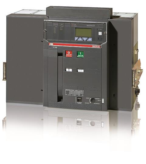 Выключатель автоматический выкатной E4H 3200 PR123/P-LSIG In=3200A 3p W MP 1SDA056839R1 ABB