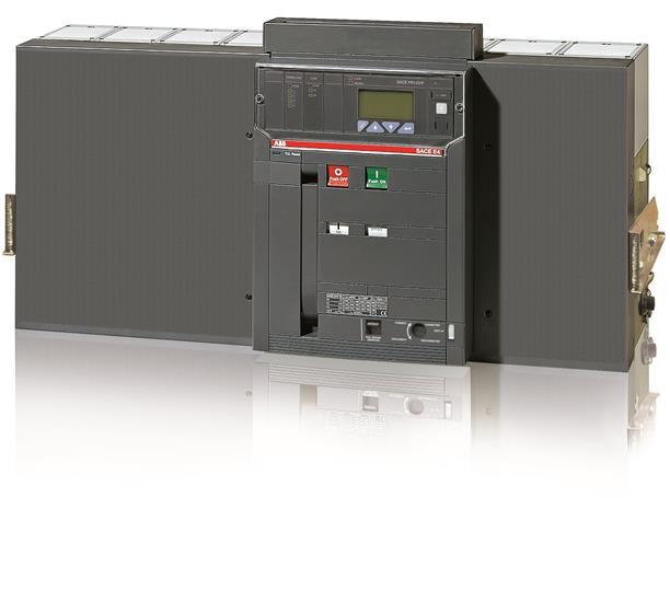 Выключатель автоматический выкатной E4H 3200 PR123/P-LSIG In=3200A 4p W MP 1SDA056847R1 ABB
