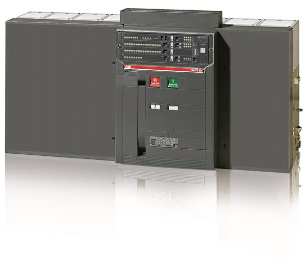 Выключатель автоматический стационарный E4S 4000 PR121/P-LI In=4000A 4p F HR 1SDA056792R1 ABB