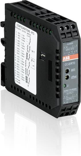 Преобразователь сигналов CC-E RTD/I 1SVR011798R2600 ABB
