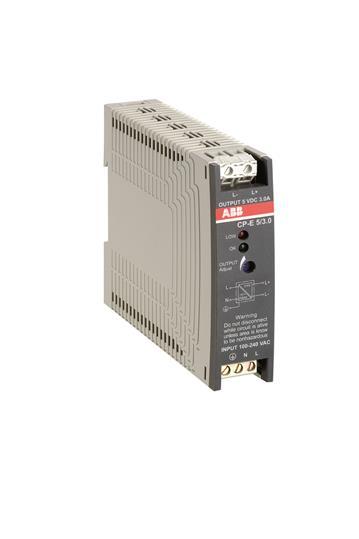 Блок питания CP-E 24/0.75 (регулир. вых. напряж) вход 90-265В AC / 120- 370В DC, выход 24В DC /0.75A 1SVR427030R0000 ABB