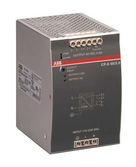 Блок питания CP-E 24/10.0 вход 93-132, 186-264В AC / 210-370В DC, выход 24В DC / 10A 1SVR427035R0000 ABB