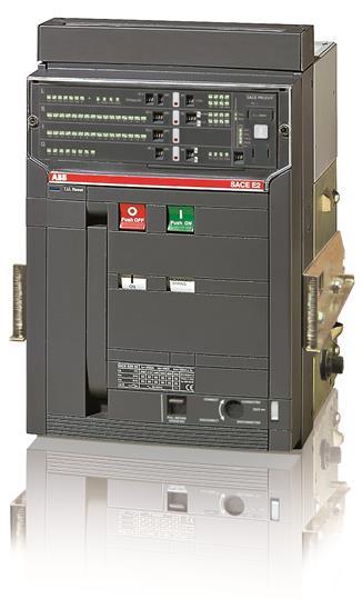 Выключатель автоматический выкатной E2S 1250 PR121/P-LI In=1250A 3p W MP 1SDA055968R1 ABB