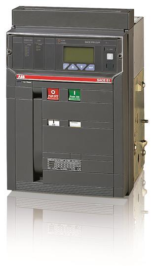 Выключатель автоматический стационарный E1N 1600 PR121/P-LSIG In=1600A 3p F HR 1SDA055762R1 ABB