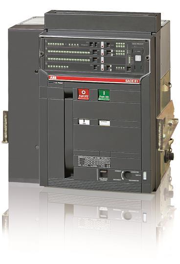 Выключатель автоматический выкатной E1N 1250 PR121/P-LSI In=1250A 4p W MP 1SDA055753R1 ABB