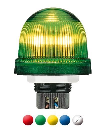 Сигнальная лампа-маячок KSB-113Y желтая проблесковая 115В АC (кс еноновая) 1SFA616080R1133 ABB