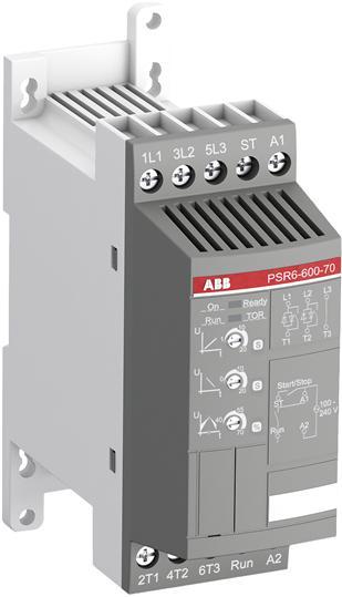 Софтстартер PSR6-600-70 3кВт 400В (100-240В AC) 1SFA896104R7000 ABB