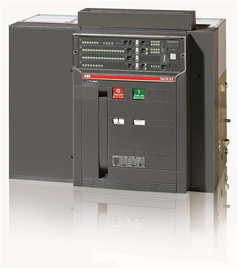 Выключатель автоматический стационарный E3L 2500 PR121/P-LSIG In=2500A 4p F HR 1SDA056762R1 ABB