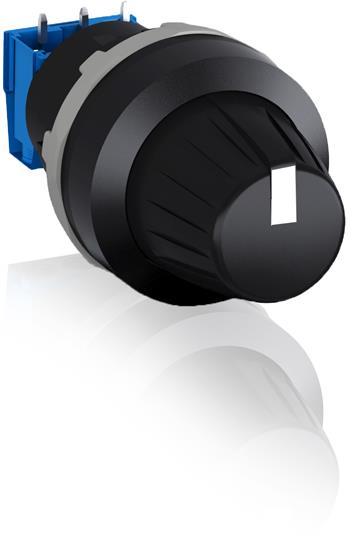 Потенциометр MT-150B в сборе 50 кОм кольцо черный пластик 1SFA611410R1506 ABB