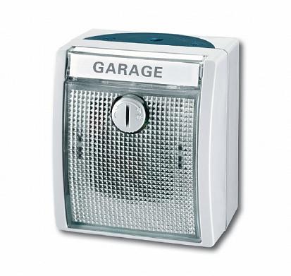 Выключатель сумеречный IP44, 16А 250В, серия ocean, цвет серый/сине-зелёный 6500-0-0791 ABB