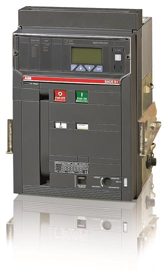 Выключатель автоматический выкатной E1B 1250 PR123/P-LSI In=1250A 3p W MP 1SDA055654R1 ABB