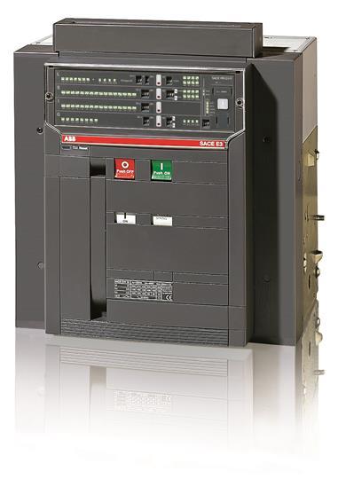 Выключатель автоматический стационарный E3S 3200 PR121/P-LSI In=3200A 3p F HR 1SDA056305R1 ABB