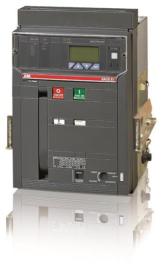 Выключатель автоматический выкатной E1N 800 PR123/P-LSI In=800A 3p W MP 1SDA055718R1 ABB
