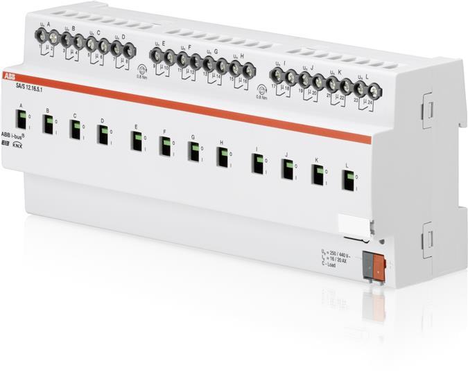 Выход бинарный 12-канальный, 16/20АХ, SA/S 12.16.5.1 2CDG110137R0011 ABB
