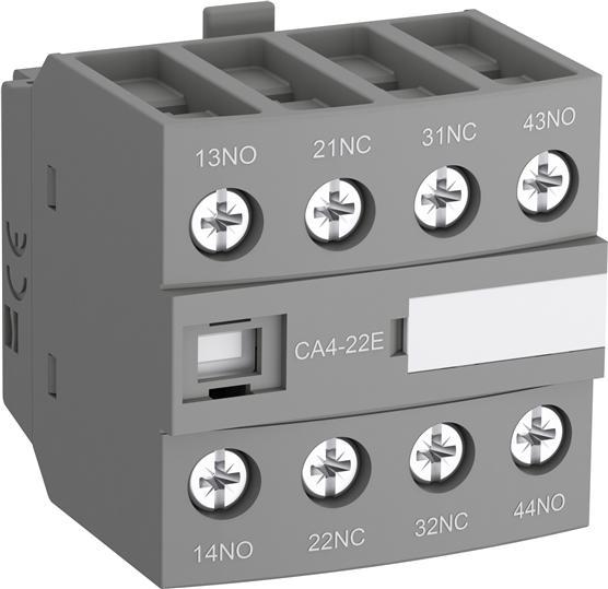 Блок контактный дополнительный CA4-22E (2НО+2НЗ) для контакторов AF09...AF38 1SBN010140R1022 ABB