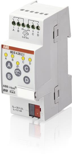 Вход бинарный 4к, сканирующий контакт, BE/S 4.20.2.1 2CDG110090R0011 ABB
