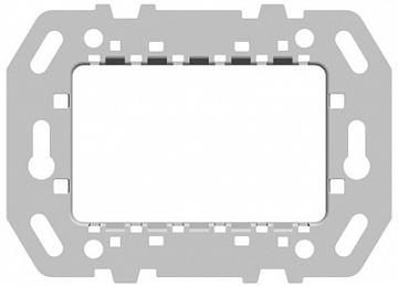 Суппорт стальной для рамок итальянского стандарта, на 1-2-3 модуля, без монтажных лапок N2473.9 ABB