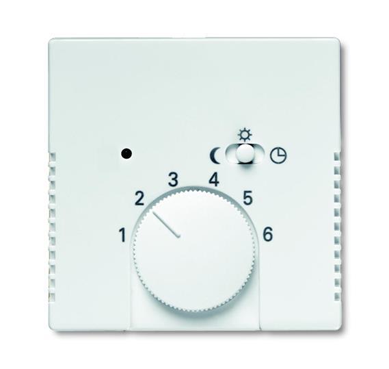 Плата центральная (накладка) для механизма терморегулятора (термостата) 1095 U, 1096 U, серия solo/f 1710-0-3886 ABB