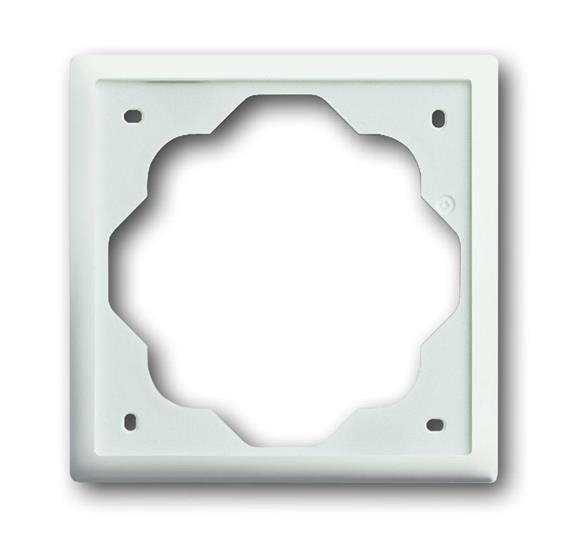 Рамка 1-постовая, серия impuls, цвет белый бархат 1754-0-4429 ABB