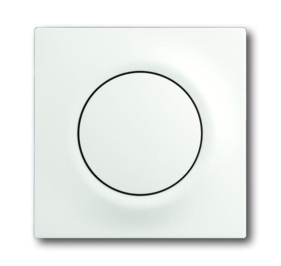 Клавиша для механизма 1-клавишного выключателя/переключателя/кнопки, серия impuls, цвет белый бархат 1753-0-0182 ABB