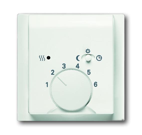 Плата центральная (накладка) для механизма терморегулятора (термостата) 1095 U, 1096 U, серия impuls 1710-0-3924 ABB