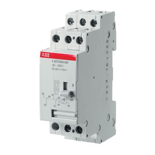 Электромеханич.реле E257 C002-24 2CSM416000R0211 ABB