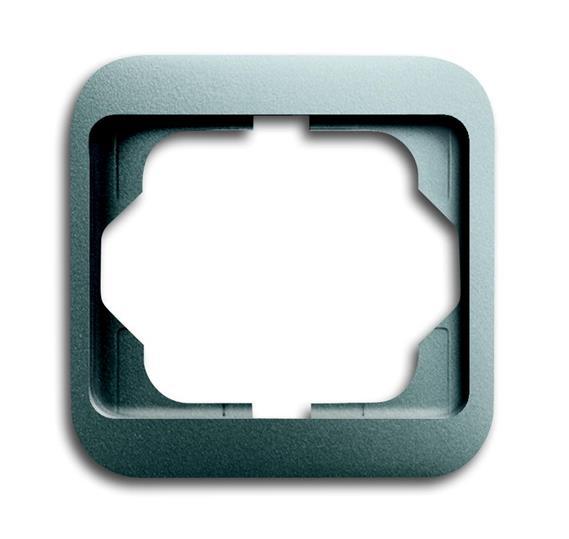 Рамка 1-постовая, серия alpha nea, цвет титан 1754-0-4391 ABB
