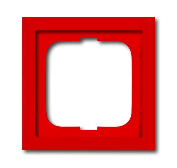 Рамка 1-постовая, серия future linear, цвет красный 1754-0-4371 ABB