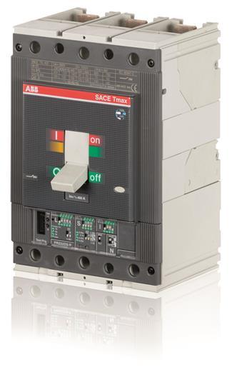 Выключатель автоматический для защиты электродвигателей T5N 400 Ekip M- LRIU In=320 3p F F 1SDA054551R1 ABB