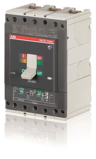 Выключатель автоматический для защиты электродвигателей T5N 400 PR221DS-I In=320 3p F F 1SDA054318R1 ABB