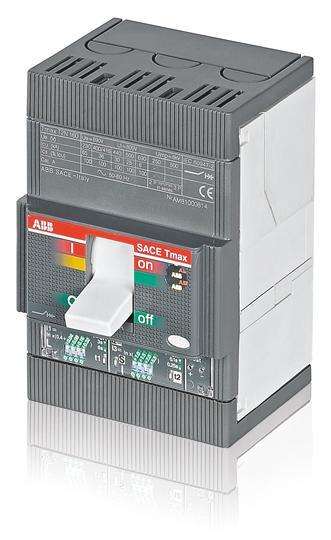 Выключатель автоматический для защиты электродвигателей T2L 160 MF5 Im=65A 3p F F 1SDA053149R1 ABB