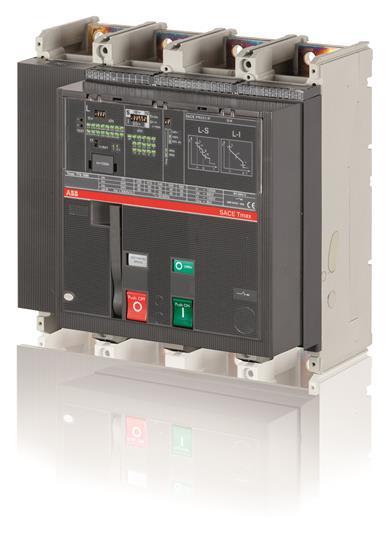 Выключатель автоматический для защиты электродвигателей T7L 1250 PR231/P I In=1250A 4p F F M 1SDA062953R1 ABB