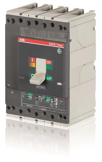 Выключатель автоматический для защиты электродвигателей T4S 250 PR221DS-I In=160 4p F F 1SDA054037R1 ABB
