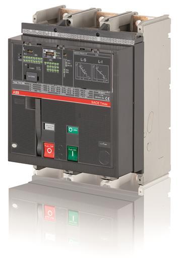 Выключатель автоматический для защиты электродвигателей T7H 1600 PR231/P I In=1600A 3p F F M 1SDA063041R1 ABB