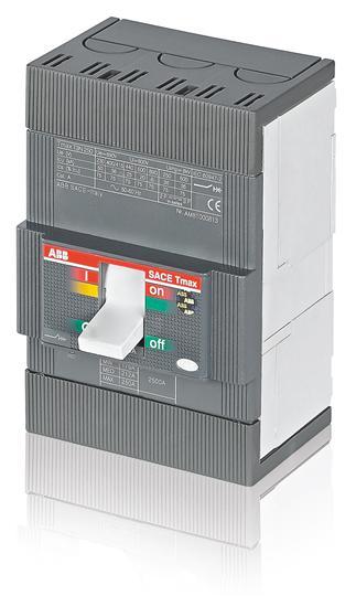 Выключатель автоматический для защиты электродвигателей T3N 250 MA200 Im=1200..2400 3p F F 1SDA051318R1 ABB