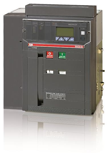 Выключатель автоматический постоянного тока, выкатной E2N 1600 PR123/DC In=1600A 4p W MP 1SDA064687R1 ABB