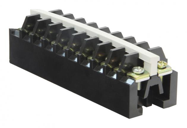 Блок зажимов БЗ24-4П25-10 карболит BZ2410 Texenergo