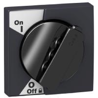 Acti9 Поворотная рукоятка ЧЕРНАЯ с передаточным механизмом для iC60,iC60+Vigi A9A27005 Schneider Electric