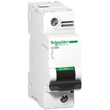 Автоматический выключатель C120N 1П 100A C A9N18358 Schneider Electric
