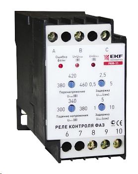 Реле контроля фаз РКФ-11 EKF rkf-11 EKF