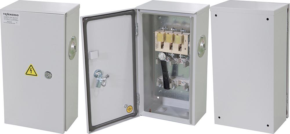 Ящик с рубильником ЯРП 100А ПН2 габарит 100А IP54 YRP-PN2-100-100-54 Texenergo