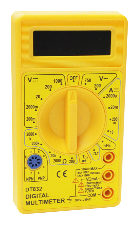 Мультиметр М832 звук. индик PDT832 Mastech