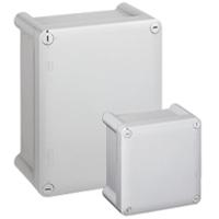 Коробка промышленная пластиковая - IP66 - IK08 - T 029 - 310x240x124 мм - непрозрачная крышка 035044 Legrand